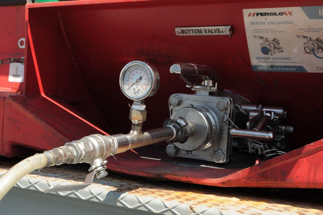 manutenção e inspecção de tanque